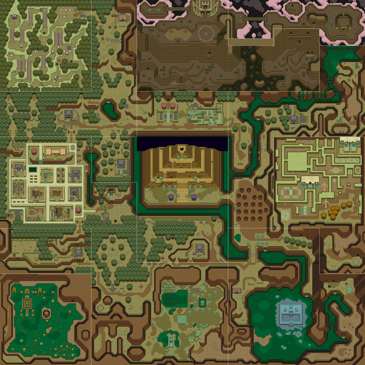 Link to the Past Dark World Big