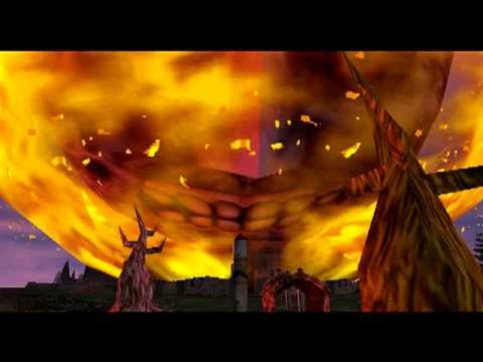 Majora's Mask failure cutscene.